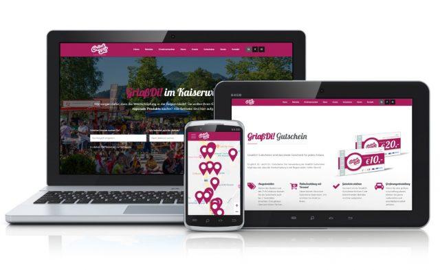GriaßDi! Website im neuen Outfit