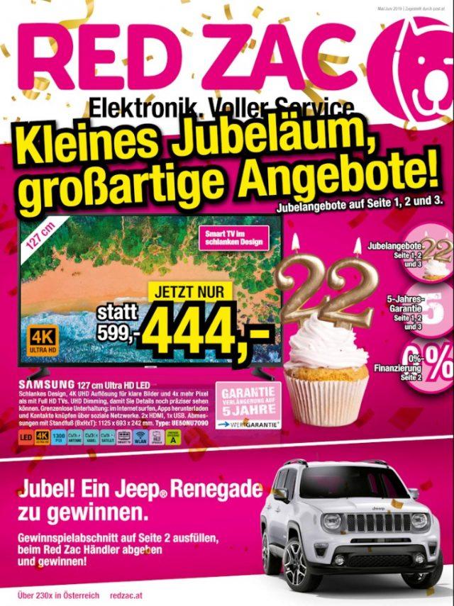 Mai/Juni Aktion bei Red Zac Elektro Knoll