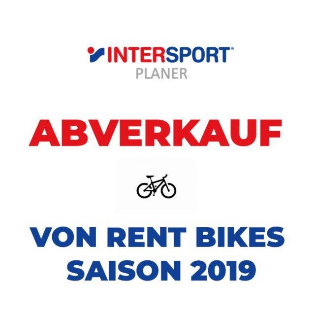 Abverkauf Rent Bikes Saison 2019 – Intersport Planer