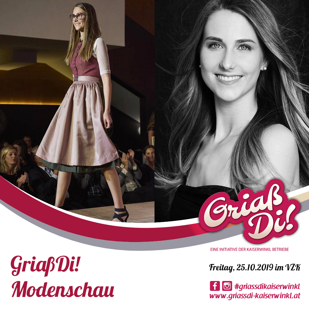 Promotion Modenschau Patricia