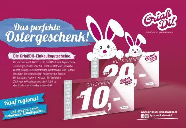 Kaiserwinkl Aktuell – GriaßDi! Werbung April 2020