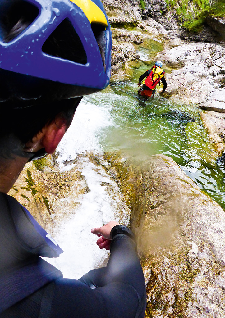 sportundnatur canyoning