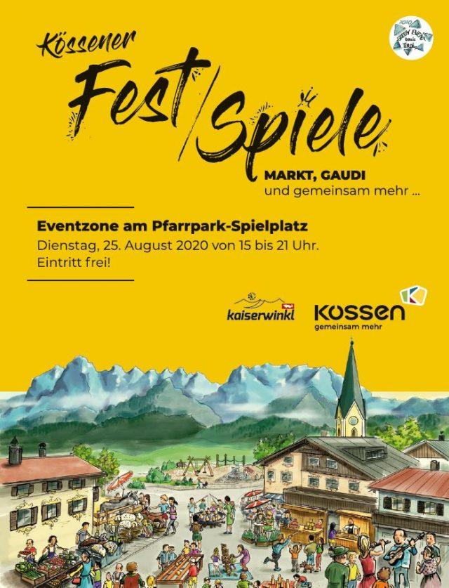 Kössener Fest/Spiele (6/6) am Dienstag 25. August 2020