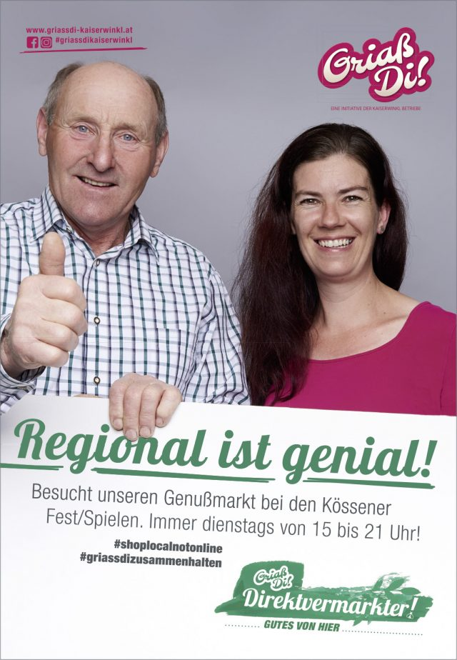 Kaiserwinkl Aktuell – GriaßDi! Werbung August 2020