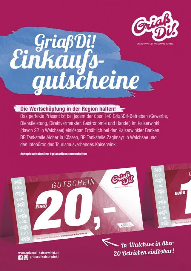 Infowelle Walchsee – GriaßDi! Werbung August 2020