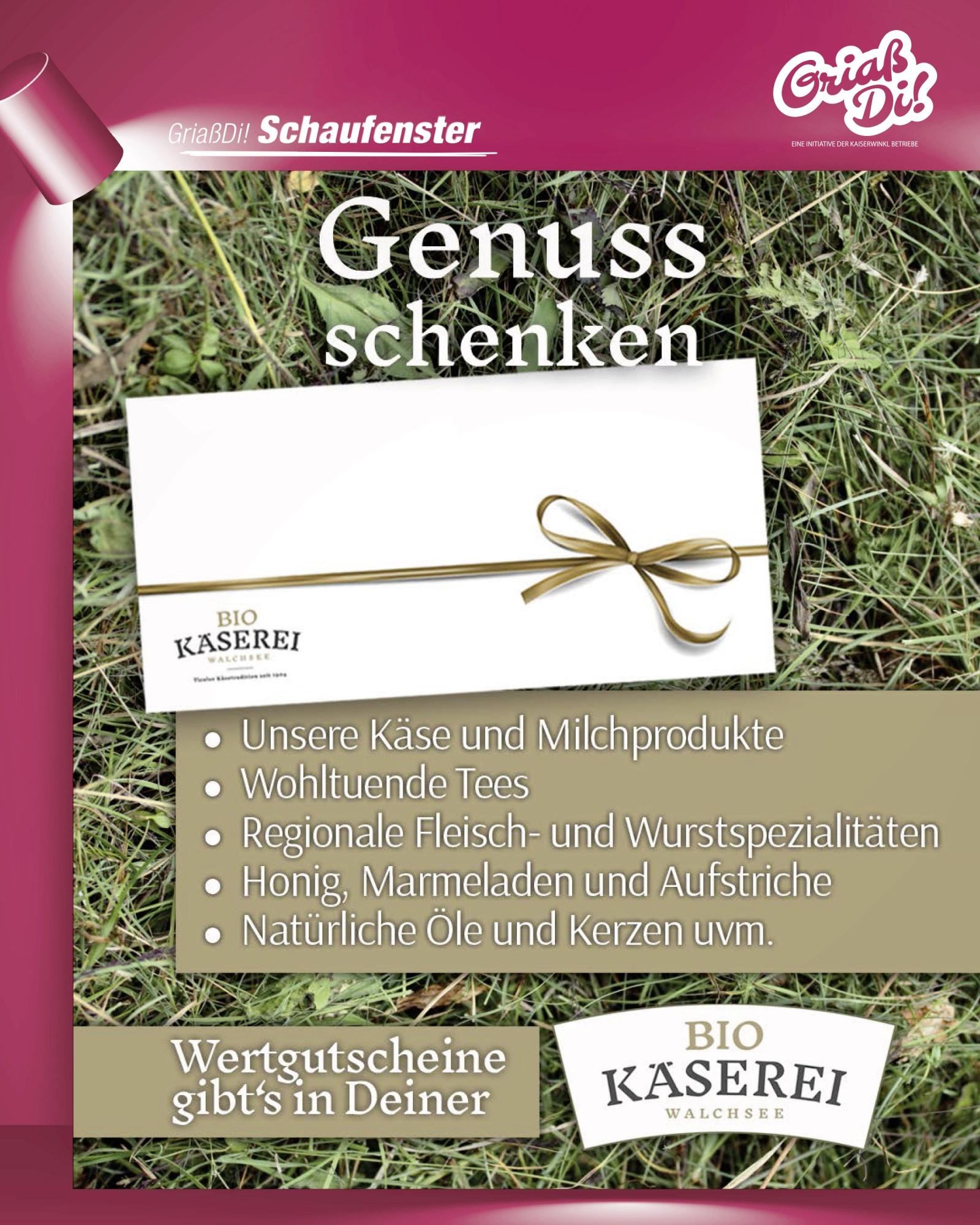 GriassDi_Schaufenster_Dez2020_BiokäsereiWalchsee