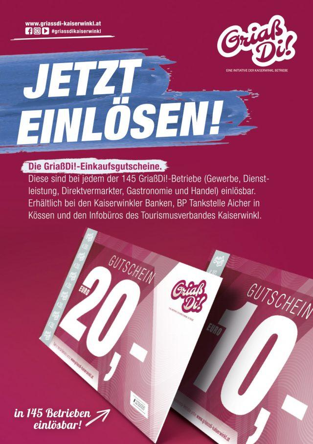 Kaiserwinkl Aktuell – GriaßDi! Werbung März 2021