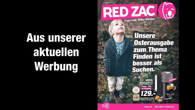 April 2021 Aktion bei Red Zac Elektro Knoll