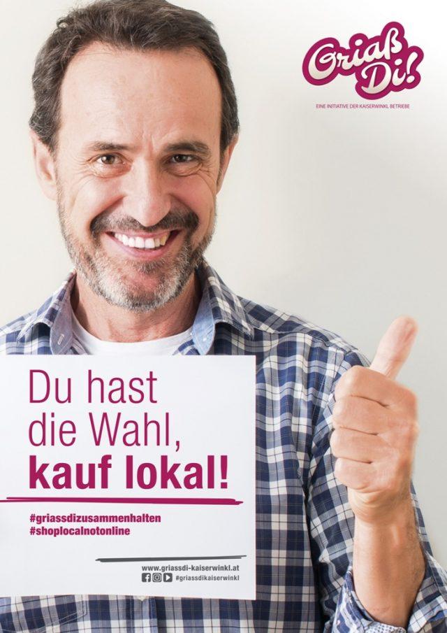 Infowelle Walchsee – GriaßDi! Werbung Mai 2021