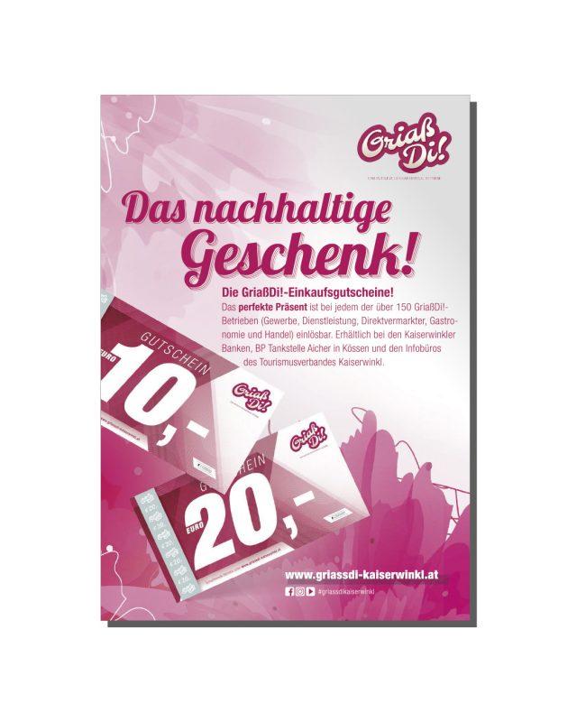Kaiserwinkl Aktuell – GriaßDi! Werbung Oktober 2021